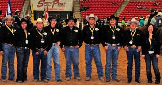 Commisioners of the Indian National Finals Rodeo